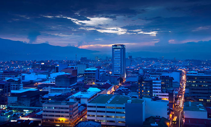 Costa Rica city