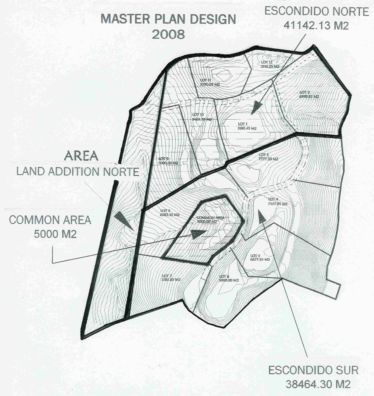 costa rica division plan map
